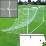 Сетка футбольная тренировочная KV.Rezac (a:7.5 b:2.5 c:0.8 d:1.2м, нить 2мм), арт.14025632
