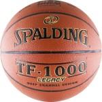Мяч баскетбольный Spalding TF-1000 Legacy (№7) FIBA Approved 74-450z