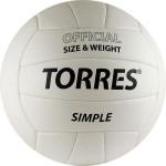 Мяч волейбольный Torres Simple V30105