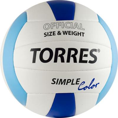 Мяч волейбольный Torres Simple Color V30115