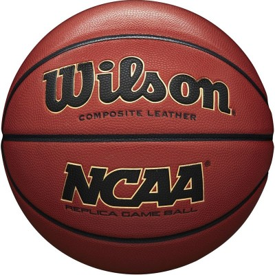 Мяч баскетбольный Wilson NCAA Replica Comp Defl (№7) арт.WTB0730XDEF