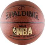Мяч баскетбольный Spalding NBA Gold Series Indoor/Outdoor (№7) 74-559z/76-014z