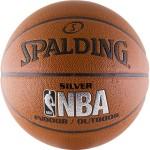 Мяч баскетбольный Spalding NBA Silver Series Indoor/Outdoor (№7) 74-556z