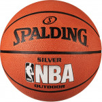 Мяч баскетбольный Spalding NBA Silver Series Outdoor (№6) 83-015Z
