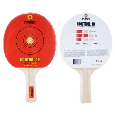 Ракетка для настольного тенниса TORRES Control 10, арт.TT0001