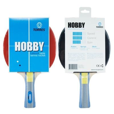 Ракетка для настольного тенниса TORRES Hobby, арт.TT0003