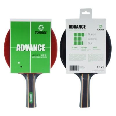 Ракетка для настольного тенниса TORRES Advance, арт.TT0004