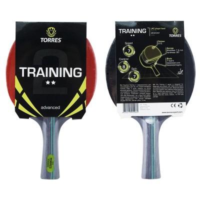 Ракетка для настольного тенниса TORRES Training 2*, арт.TT0006