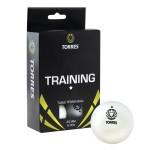 Мяч для настольного тенниса TORRES Training 1*, арт.TT0016 (упак. 6 шт.)