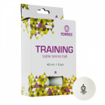 Мяч для настольного тенниса TORRES Training 1*, арт.TT21016 (упак. 6 шт.)