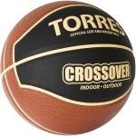 Мяч баскетбольный Torres Crossover (№7) B32097