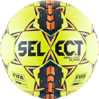 Мяч футбольный Select Brillant Super FIFA YELLOW арт. 810108-056