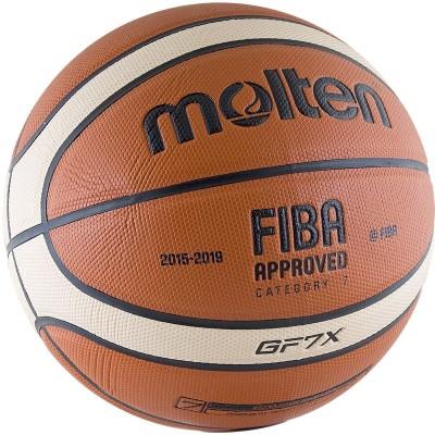 Мяч баскетбольный Molten BGF7X, FIBA Approved
