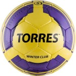 Мяч футбольный Torres Winter Club YELLOW F30045YEL