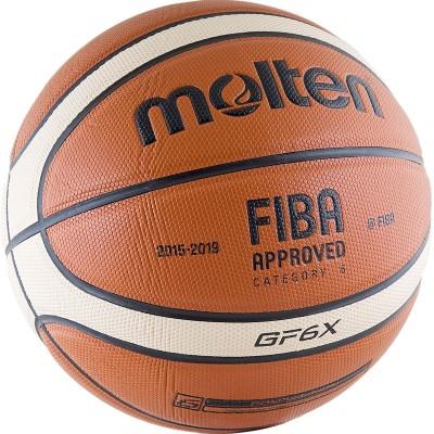 Мяч баскетбольный Molten BGF6X, FIBA Approved