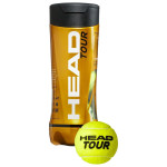 Мячи для большого тенниса HEAD TOUR 3B арт.570703 (упак. 3 шт.)