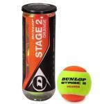 Мячи для большого тенниса Dunlop Stage 2 (ORANGE) 3B (детские), арт.602205 (упак. 3 шт.)