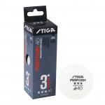 Мяч для настольного тенниса Stiga Perform 3***, арт.1113-2110-03 (упак. 3 шт.)