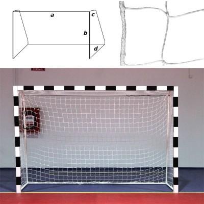 Сетка гандбольная/футзальная FS-G-№12 (глуб. верх. 0,80 м, глуб. нижн. 1,00 м)