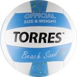 Мяч для пляжного волейбола Torres Beach Sand Blue V30095B