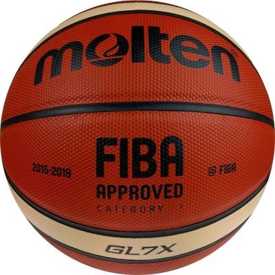 Мяч баскетбольный Molten BGL7X, FIBA Approved