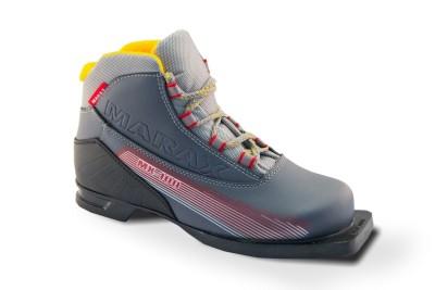 Ботинки лыжные NN-75 Marax MX-100 Grey
