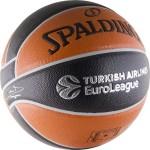 Мяч баскетбольный Spalding TF-500 Euroleague (№7) 84-002z