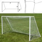 Сетка футбольная профессиональная (a:7.5 b:2.5 c:1.2 d:2.0м, нить 7мм), арт.FS№PF7.5x2.5