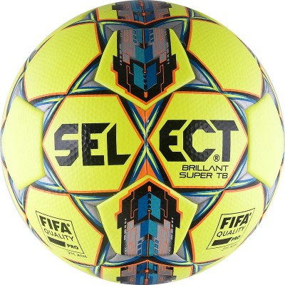 Мяч футбольный Select Brillant Super FIFA TB YELLOW арт.810316-552