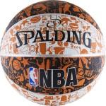 Мяч баскетбольный Spalding NBA GRAFFITI (№7) 73-722z