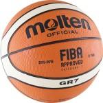 Мяч баскетбольный Molten BGR7-OI, FIBA Approved