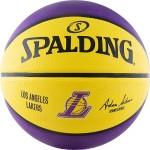 Мяч баскетбольный Spalding NBA Team Los Angeles Lakers (№7) 83-510z