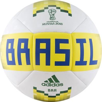 Мяч футбольный Adidas WC2018 Capitano CBF CF2310