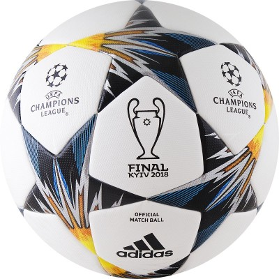 Мяч футбольный Adidas Finale18 Kiev OMB CF1203 (Официальный мяч финала Лиги Чемпионов 2017/18)