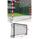 Сетка гандбольная/футзальная El Leon de Oro (a:3.0 b:2.0 c:0.8 d:1.0м, нить 5мм), арт.11445010002