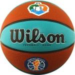 Мяч баскетбольный Wilson VTB Gameball ASG ECO (№7) арт.WTB0534XBVTB (Официальный мяч чемпионата Единой лиги ВТБ в сезоне-2018/19)