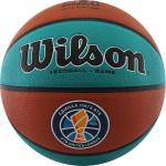 Мяч баскетбольный Wilson VTB SIBUR Gameball ECO (№7) (Официальный мяч чемпионата Единой лиги ВТБ в сезоне-2019/20), арт.WTB0547XBVTB