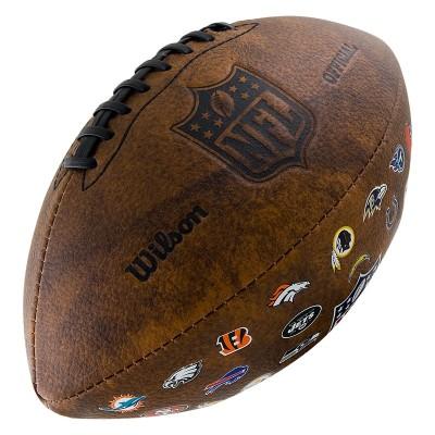 Мяч для американского футбола Wilson NFL 32 Team Logo WTF1758XBNF32