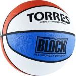 Мяч баскетбольный Torres Block (№7) B00077