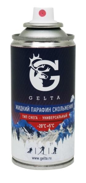 Жидкий Парафин Скольжения (Аэрозоль) Gelta (-20°С...+5°С) 100г.