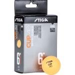 Мяч для настольного тенниса Stiga Cup ABS, арт.1110-2503-06 (упак. 6 шт.)