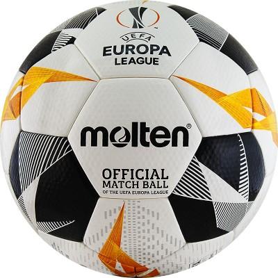Мяч футбольный Molten (FIFA Quality Pro) (Официальный мяч Лиги Европы УЕФА 2019/20) F5U5003-G19