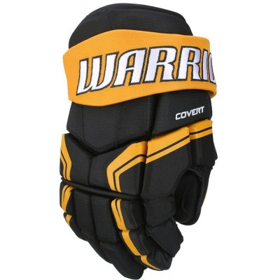 Перчатки хоккейные Warrior Covert QRE3, арт.Q3G-BKO