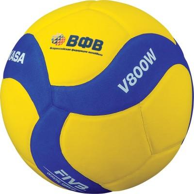 Мяч для пляжного волейбола Mikasa V800W