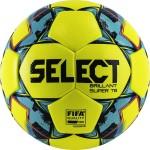 Мяч футбольный Select Brillant Super FIFA TB YELLOW (FIFA Quality Pro) арт.810316-152