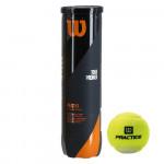 Мячи для большого тенниса Wilson Tour Practice (ITF Approved), арт. WRT114500 (упак. 4 шт.)