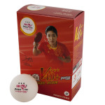 Мяч для настольного тенниса Double Fish 3***, арт.V111F (упак. 6 шт.)