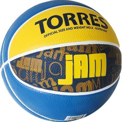 Мяч баскетбольный Torres Jam (№3) B02043