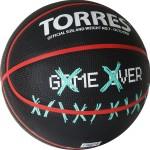 Мяч баскетбольный Torres Game Over (№7) B02217