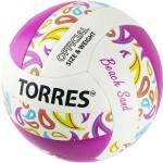 Мяч для пляжного волейбола Torres Beach Sand Pink V32085B